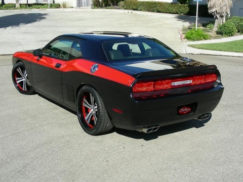 2009-Mr-Norms-Super-Dodge-Challenger-Black-Rear-Angle-Top-1024x768