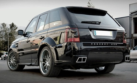 Concept802 Range Rover Sport Platinum R Wide Bodykit
