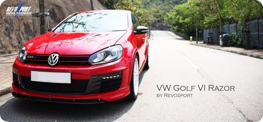 Revozport VW Golf VI GTi Razor