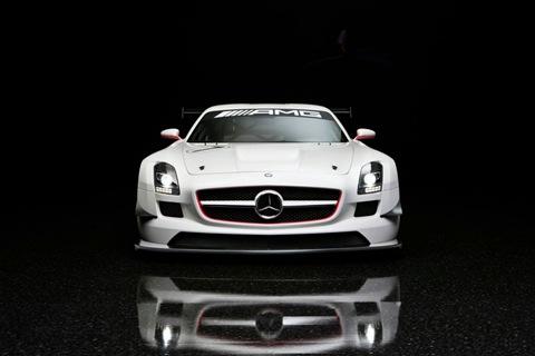 2011 Mercedes SLS AMG GT3 4