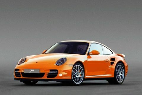 9ff DR700 Porsche 997 Turbo 6