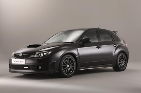2011 Cosworth Impreza STI CS400 6