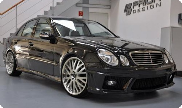 Mercedes-Benz E-Class W211 by Prior-Design 5