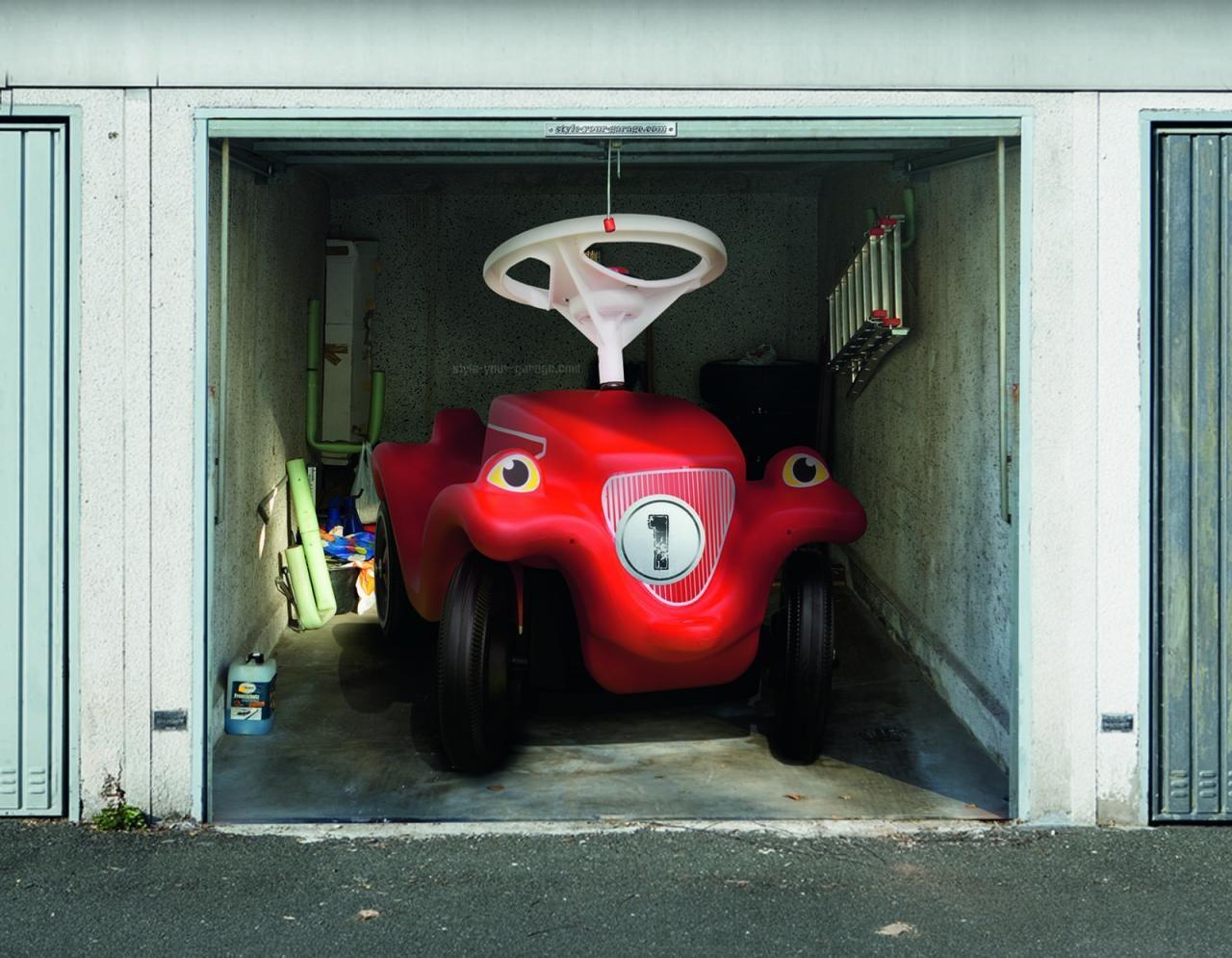 Простые рисунки на воротах гаража своими руками