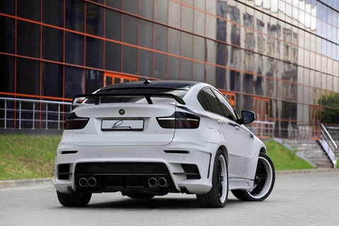 Lumma CLR X 650 based on BMW X6 4