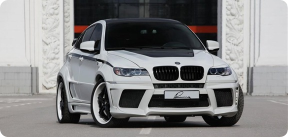 Lumma CLR X 650 based on BMW X6 5