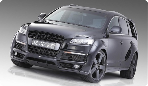 JE Design Q7 S-line widebody 4
