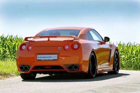 Nissan GT-R tuned by Koenigseder 6