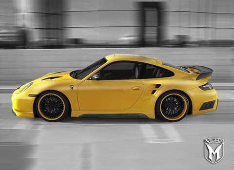 Porsche 911 Turbo body kit by Misha Design 1