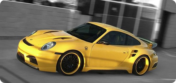Porsche 911 Turbo body kit by Misha Design3