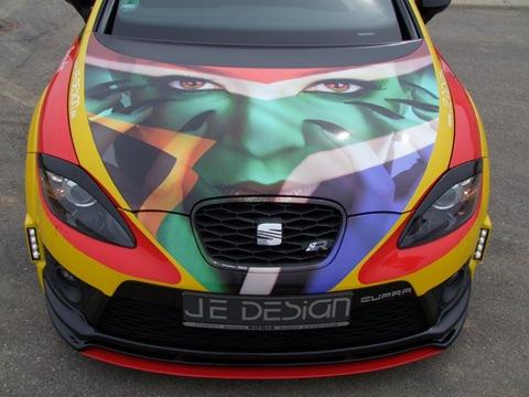 SEAT Leon Cupra R Deutschland by JE Design 4