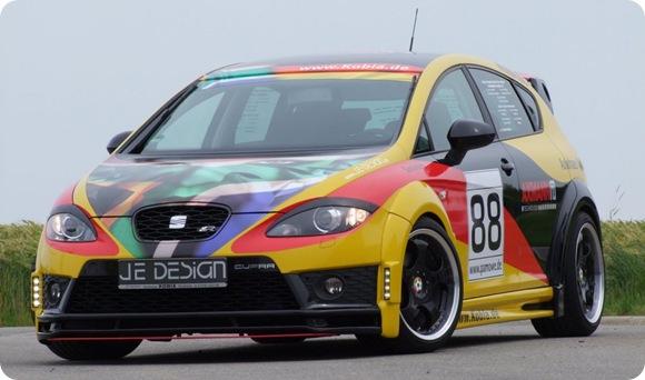 SEAT Leon Cupra R Deutschland by JE Design 5