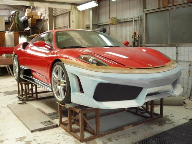 Бампер Ferrari F430 430 - фото 2