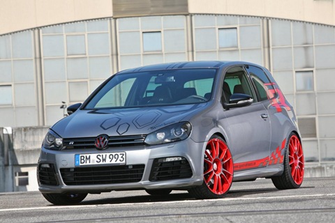 VW Golf VI R with 330 HP by Sport-Wheels 15