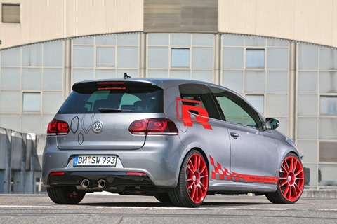 VW Golf VI R with 330 HP by Sport-Wheels 7