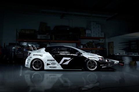 1100hp Scion tC AWD racer by Team NFS 2