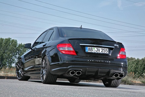 Mercedes C 250 CGI with VÄTH turbo kit 1