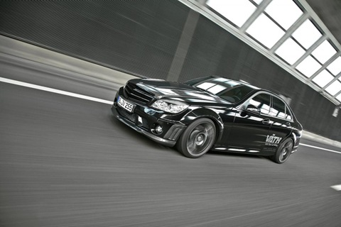Mercedes C 250 CGI with VÄTH turbo kit 2