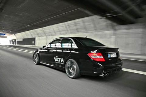 Mercedes C 250 CGI with VÄTH turbo kit