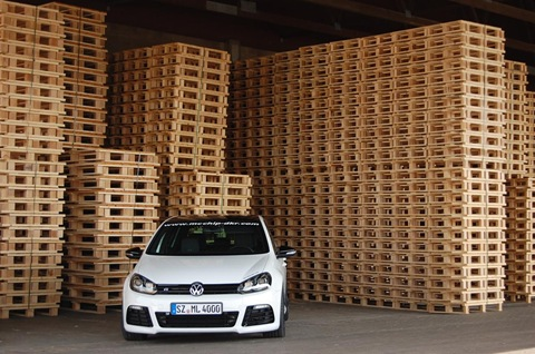 VW Golf R with 315hp by mcchip 2
