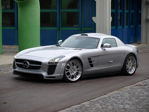 Mercedes SLS AMG by FAB Design 2