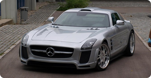 Mercedes SLS AMG by FAB Design 3