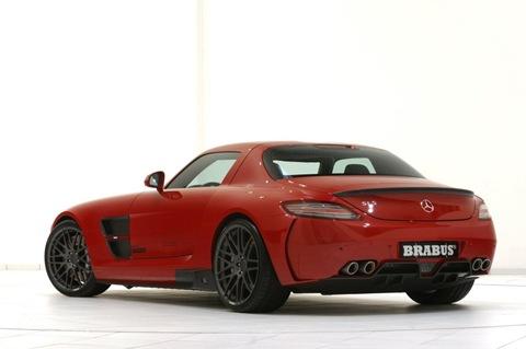 BRABUS WIDESTAR Mercedes SLS  1