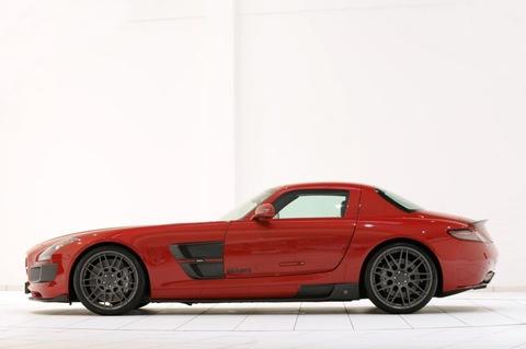BRABUS WIDESTAR Mercedes SLS 2