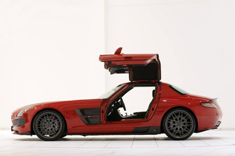 BRABUS WIDESTAR Mercedes SLS 4