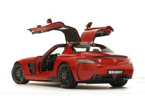 BRABUS WIDESTAR Mercedes SLS 5