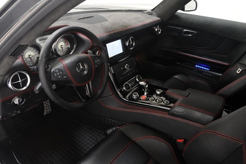 BRABUS WIDESTAR Mercedes SLS 8