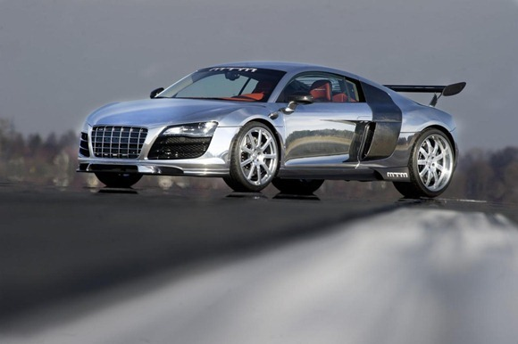 MTM R8 V10 Biturbo in Chrome 2