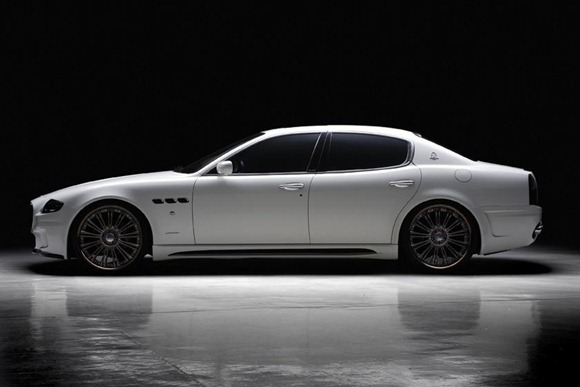 Maserati Quattroporte Black Bison by Wald International 2