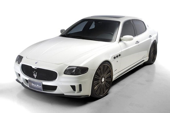 Maserati Quattroporte Black Bison by Wald International 4