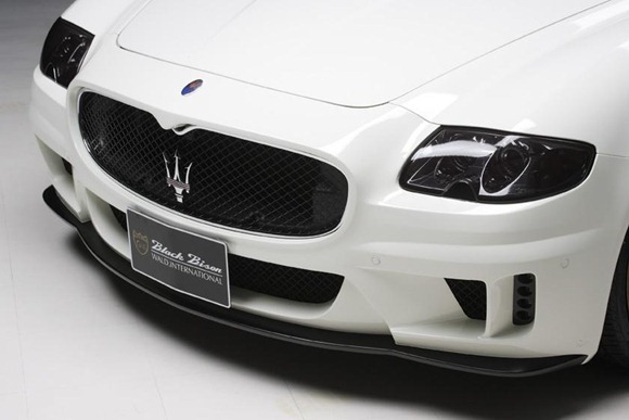Maserati Quattroporte Black Bison by Wald International 6
