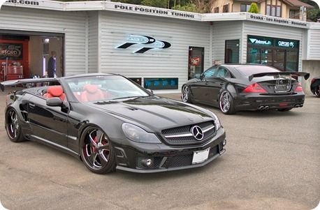 Overkill Mercedes-Benz Pole Position Tuning 01