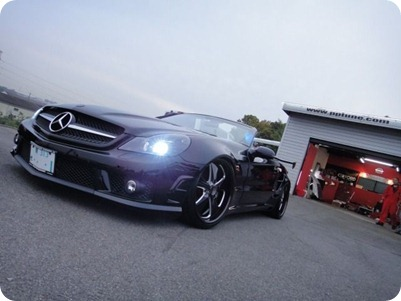 Overkill Mercedes-Benz Pole Position Tuning 09