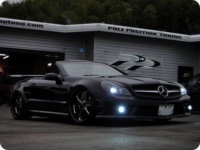 Overkill Mercedes-Benz Pole Position Tuning 10