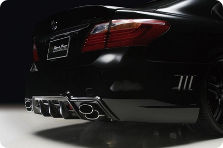 Wald Black Bison Series for 2010 Lexus LS 10