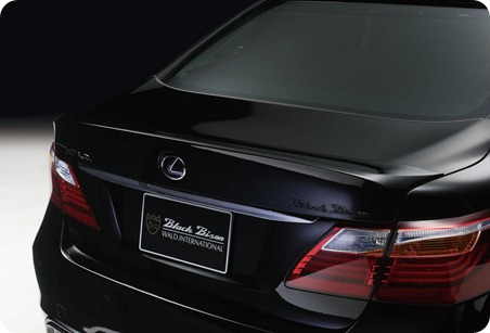 Wald Black Bison Series for 2010 Lexus LS  12