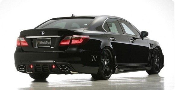 Wald Black Bison Series for 2010 Lexus LS