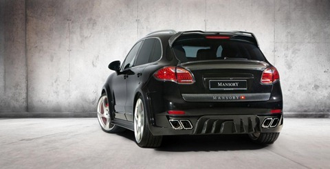 Wide-body Porsche Cayenne by Mansory 6