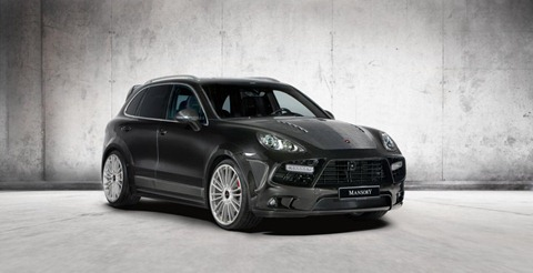 Wide-body Porsche Cayenne by Mansory 7