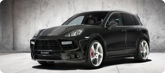 Wide-body Porsche Cayenne by Mansory