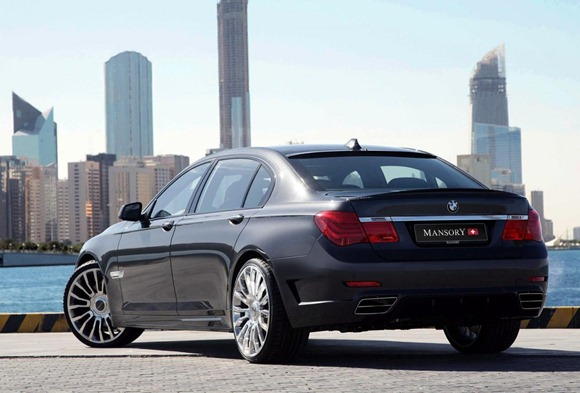 BMW 7-Series by Mansory 3
