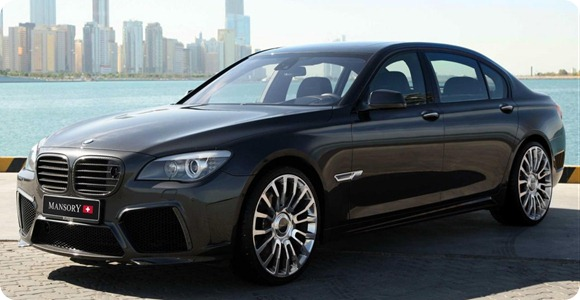 BMW 7-Series by Mansory