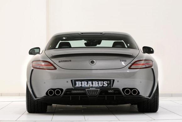 BRABUS 700 Biturbo based on Mercedes SLS AMG 10