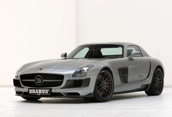 BRABUS 700 Biturbo based on Mercedes SLS AMG 12