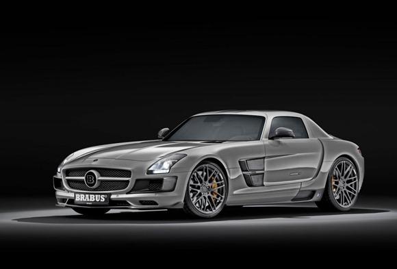 BRABUS 700 Biturbo based on Mercedes SLS AMG 1