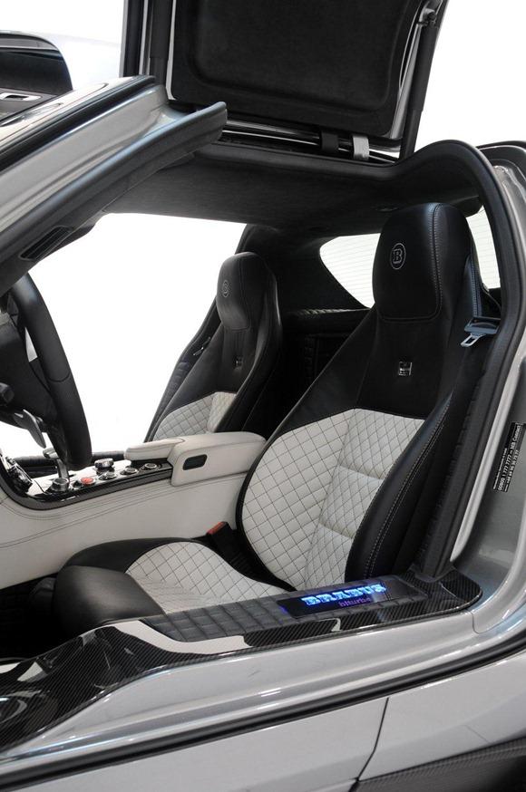 BRABUS 700 Biturbo based on Mercedes SLS AMG 27